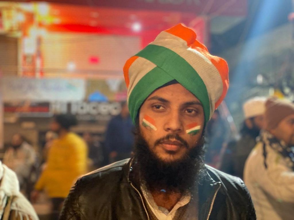 Umar at Shaheen Bagh | Shivam Vij | ThePrint