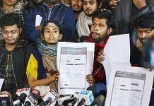 JNUSU Press Conference | Photo : Manish Mondal | ThePrint