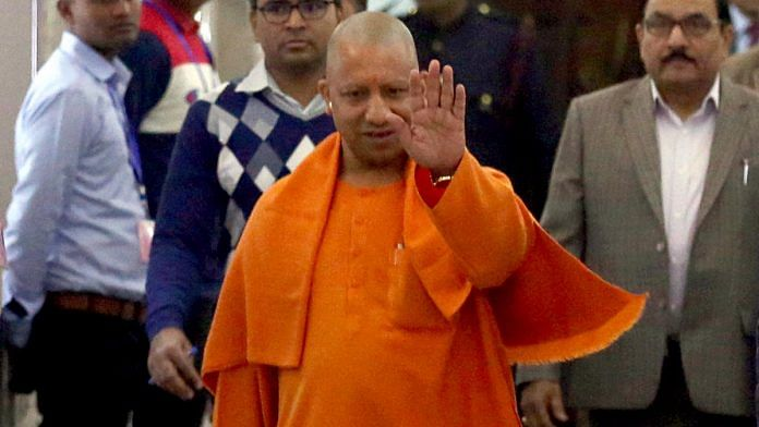 Uttar Pradesh Chief Minister Yogi Adityanath | Photo: ANI