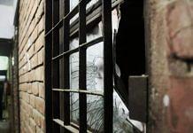 Window pane broken during Sunday's attack in JNU | Manisha Mondal | ThePrint