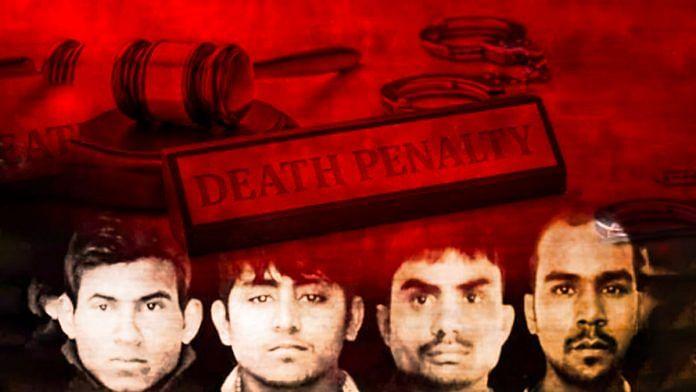 16 December gangrape convicts | Illustration Arindam Mukherjee | ThePrint