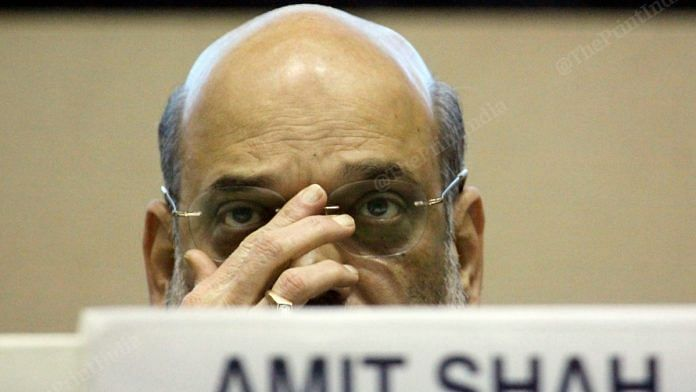 Union Home Minister Amit Shah | Photo: Praveen Jain | ThePrint