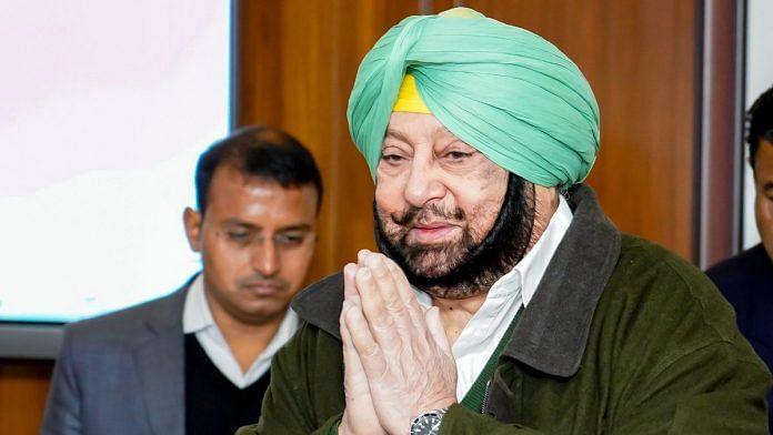 File image of Punjab Chief Minister Captain Amarinder Singh | Photo: ANI