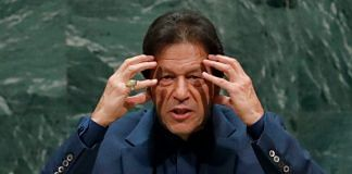 File image of Pakistan Prime Minister Imran Khan | Photo: ANI via Reuters
