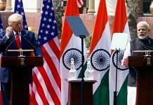 File image of US President Donald Trump and Indian Prime Minister Narendra Modi (for representation) | Photo: Praveen Jain | ThePrint |