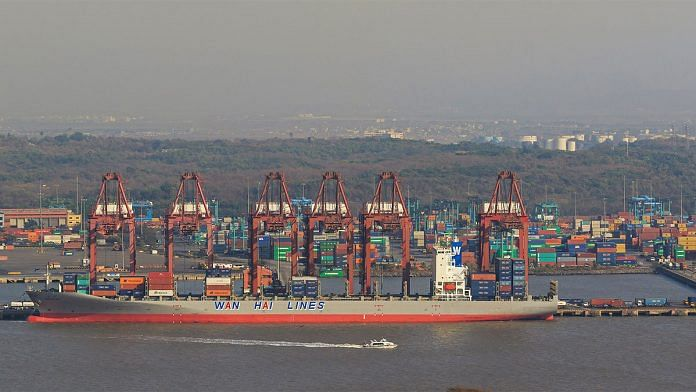 The Jawaharlal Nehru Port in Mumbai | Representational image