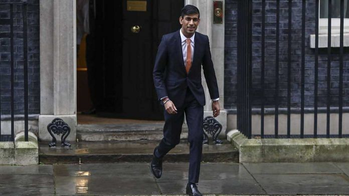 Rishi Sunak, UK Chancellor of the Exchequer, departs from Number 10 Downing Street in London, UK, on 13 February 2020 | Simon Dawson | Bloomberg