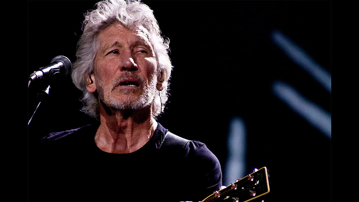 How an interview with Pink Floyd's Roger Waters in London made us celebrities back home
