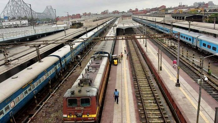 Indian Railways | Representational image | Photo: ANI