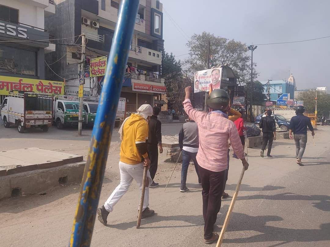 A mob on the rampage in Maujpur | Fatima Khan | ThePrint