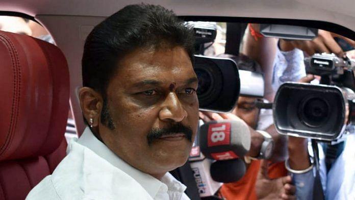 A file photo of Karnataka MLA Anand Singh. | Photo: ANI