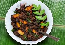 An image of beef fry, a Kerala delicacy