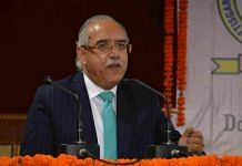 File image of Justice Deepak Gupta | Photo: Chhattisgarh High Court