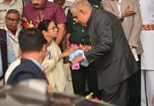 File image of West Bengal Chief Minister Mamata Banerjee and Governor Jagdeep Dhankhar | By special arrangement