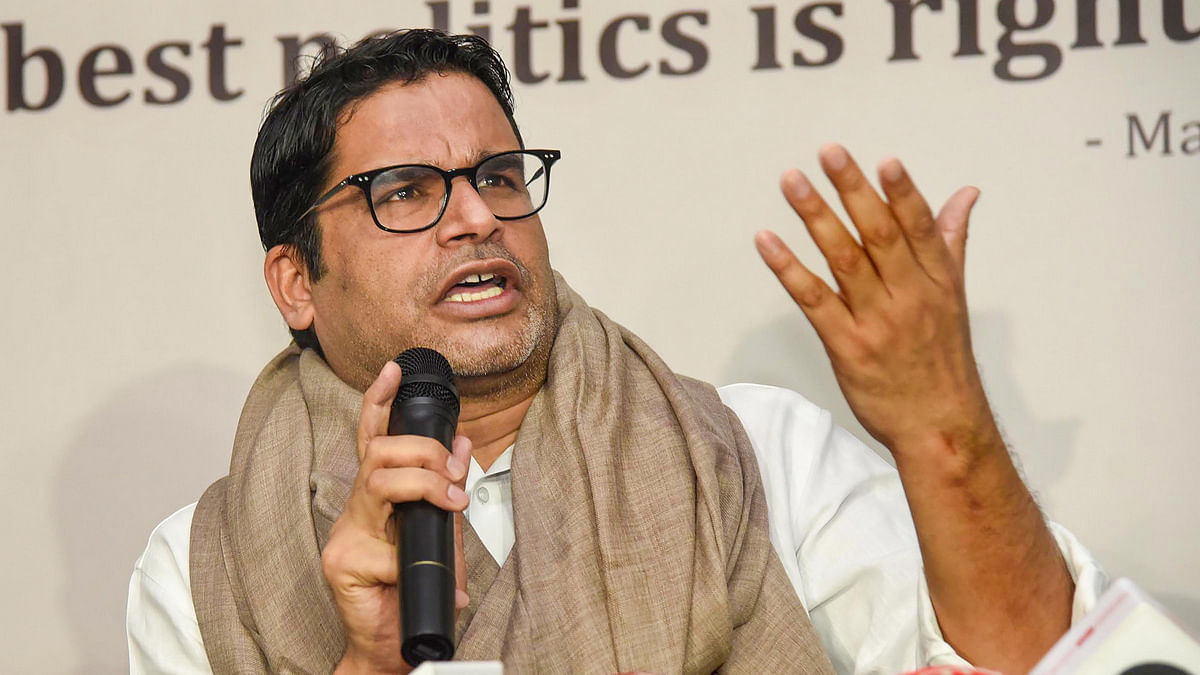 Prashant Kishor accused of plagiarism, taken to court by 'Congress'  strategist Sashwat Gautam