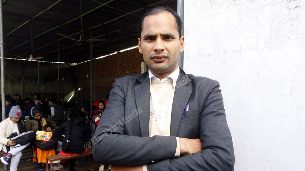 Shamshad has spent over three years at UPSC coaching centres trying to pass the exam. | Photo: Praveen Jain | ThePrint