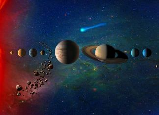 Artist concept of the solar system. | Photo: NASA