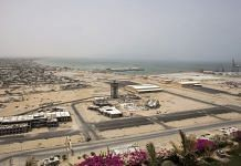 A development site near Gwadar Port, operated by China Overseas Ports Holding Co., in July 2018 | Photo: Asim Hafeez | Bloomberg