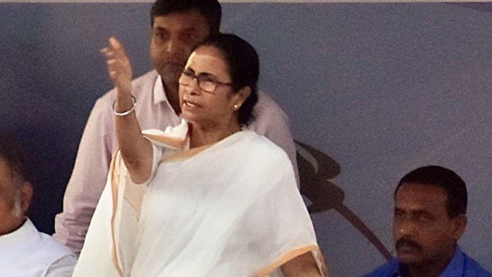 West Bengal CM Mamata Banerjee was angry about the COVID-19 case in the state | File photo: ANI