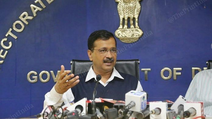 CM Arvind Kejriwal announced closure of all gyms, nightclubs and spas in Delhi till 31 March. Photo: Manisha Mondal   ThePrint
