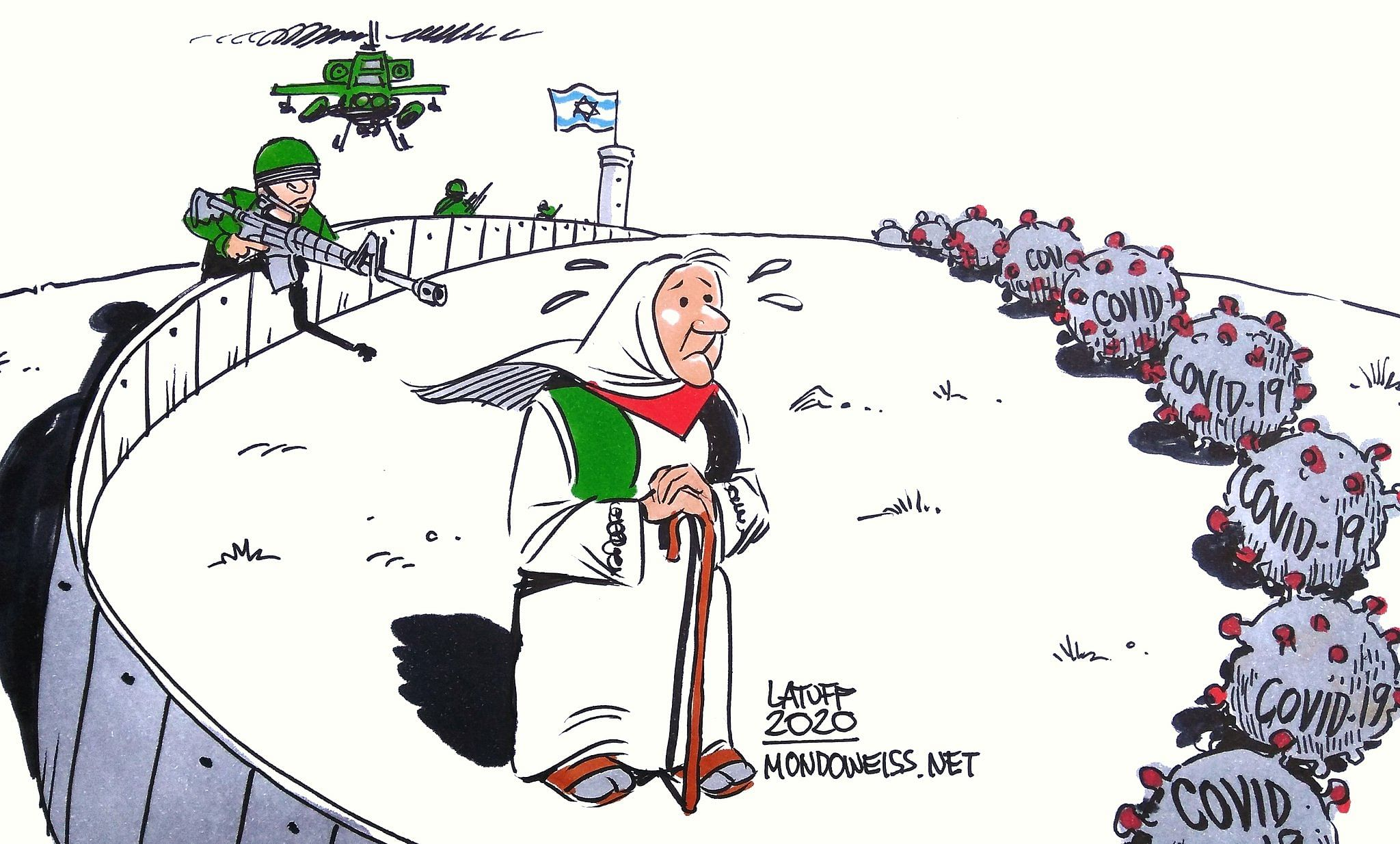 Carlos Latuff | Mondoweiss