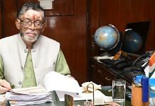 Santosh Kumar Gangwar, the Union Minister of State with Independent Charge of the labour ministry   Photo: ANI