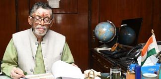 Santosh Kumar Gangwar, the Union Minister of State with Independent Charge of the labour ministry | Photo: ANI