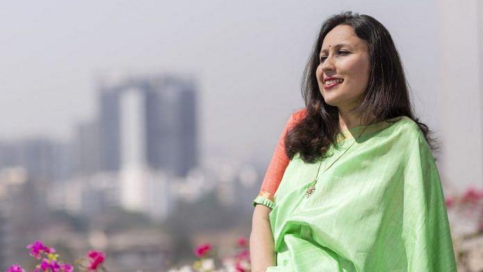 Radhika Gupta | Photo: Kanishka Sonthalia | Bloomberg