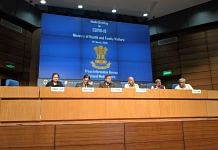 Media briefing on actions taken, preparedness & updates for the management of COVID-19 by Ministry of Health | Twitter @MoHFW_INDIA