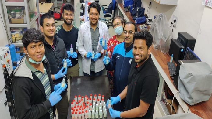 The IIT-Roorkee team that made the herbal hand sanitiser