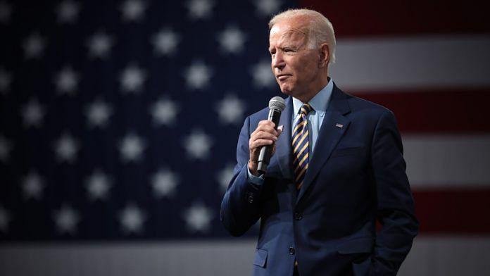 File photo of Democratic presidential nominee Joe Biden