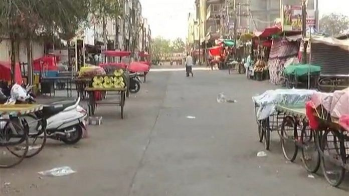 Marketplaces in Kalaburagi are deserted due to the COVID-19 lockdown | Photo: By special arrangement