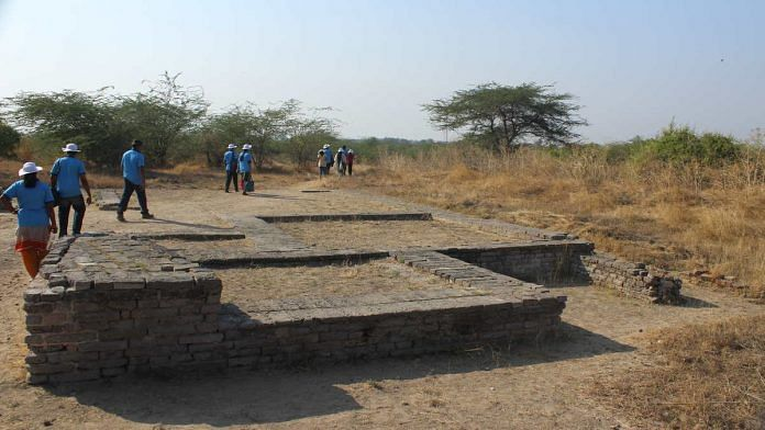 The Lothal archaeological site in Gujarat | WikiCommons