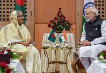 File image of Indian PM Narendra Modi and Bangladesh PM Sheikh Hasina | Photo: PIB