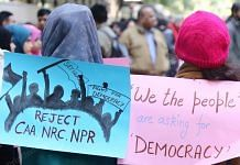 People across India have been protesting against the CAA-NRC-NPR, and states have also opposed the new parameters for the latter | Photo: Manisha Mondal | ThePrint