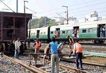 Representational image of construction work on the Indian Railways   Photo: ANI