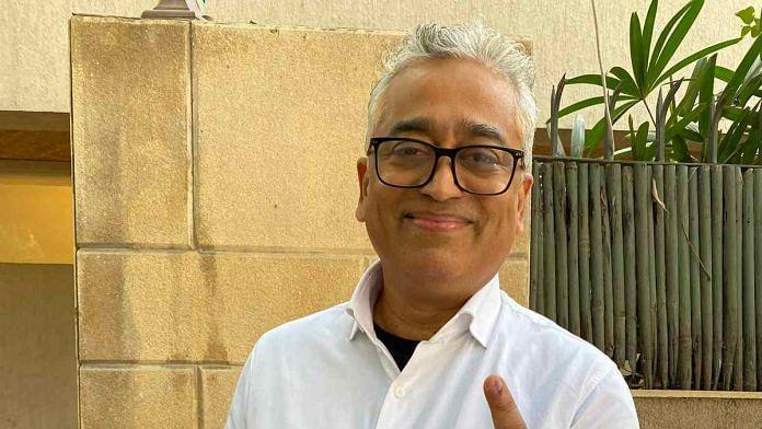 File image of journalist Rajdeep Sardesai