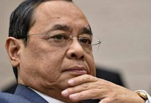 File image of former Chief Justice of India Ranjan Gogoi | Photo: PTI