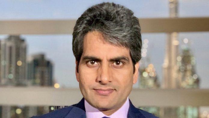Zee News anchor Sudhir Chaudhary | Twitter