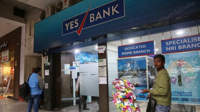 A wave of panic gripped Yes Bank depositors Thursday as it was placed under a moratorium for 30 days