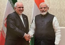Iran's Foreign Minister Javad Zarif with PM Narendra Modi in January 2020 | Photo: @JZarif | Twitter