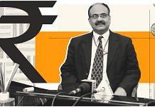 Finance secretary Ajay Bhushan Pandey. | Illustration: Soham Sen/ ThePrint