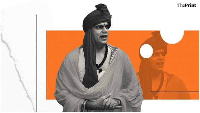 Chakrapani Maharaj, president of the Hindu Mahasabha | Image: ThePrint Team