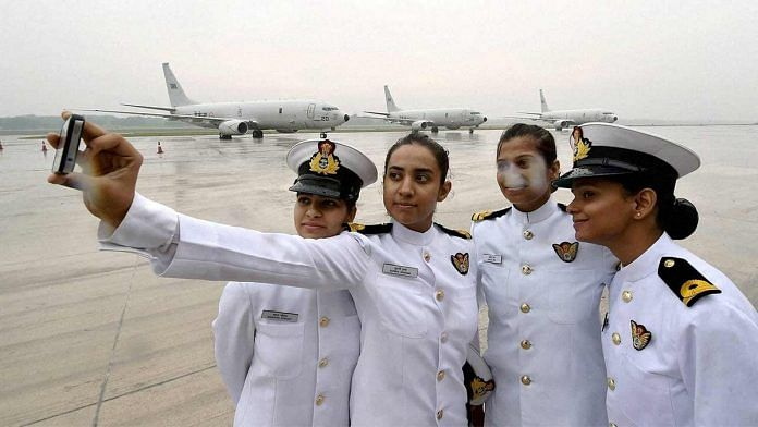 Women in the Indian Navy (representational image) | YouTube