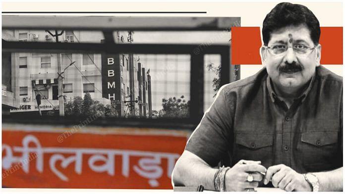 Rajendra Bhatt, the collector/district magistrate of Bhilwara, Rajasthan | Image: ThePrint Team