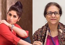 Qandeel Baloch and Asma Jahangir | Photos: Twitter and Wikimedia Commons