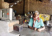 Khemraj Meena at his dhaba. Photo: Praveen Jain | ThePrint