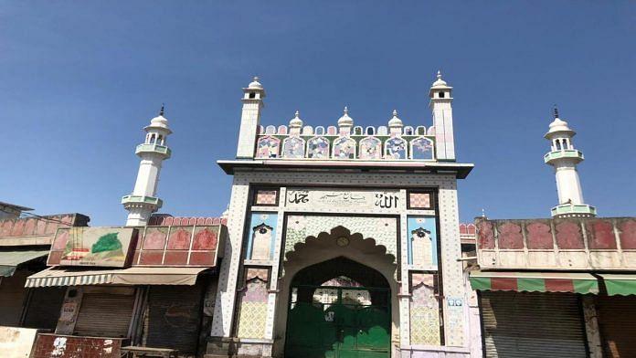 Badi Masjid at Nuh, Haryana, was built by Tablighi Jamaat founder Mohd Ilias in 1922 | Jyoti Yadav | ThePrint