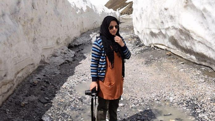 Masrat Zahra is a Kashmiri photojournalist | Facebook