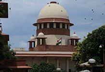 File image of the Supreme Court of India | Photo: Manisha Mondal | ThePrint